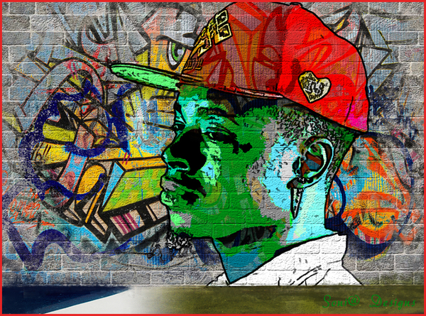 graffiti effect