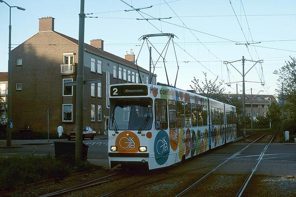 3075 een tijdje de GKB tram bezocht de tram Kraayenstein