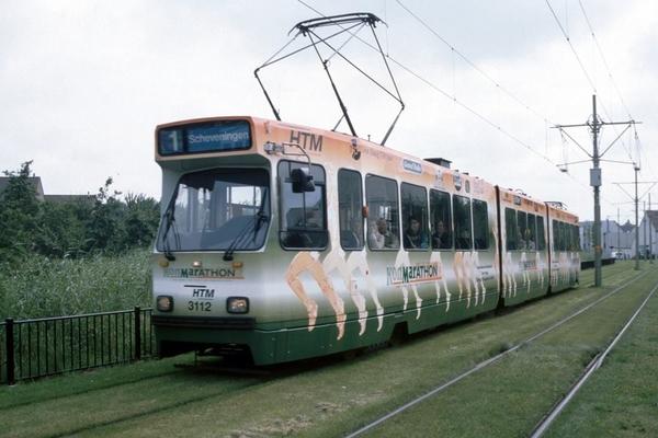 3112 Bikolaan de 3112 op weg naar Scheveningen Noorderstrand