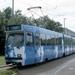 3134 als Randstad Uitzendbureau-tram in Delft. 16-07-1998