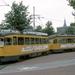 Een 1300 met een 2100 in de keerdriehoek Delft Station