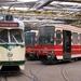 In de Lijsterbesstraat zien we velen typen trams. 25-07-2008