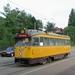 RET aan de Kleiweg staat de RET 2303 klaar voor naar Den Haag