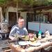 Ostrich-Ranch hamburger met struisvogelbiefstuk