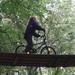 26) Jana op de fiets