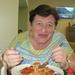 35) Memee met haar spaghetti