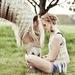 Beautiful-woman-horse-friendship