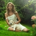 blondes-women-nature-sun-trees-grass-dogs-white-dress-cool-guy-19