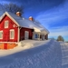 321588-architecture-house-window-snow-winter-road-trees-clouds-na