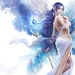 Elegant-girl-with-long-blue-hair-fantasy-Anime-Wallpapers-for-Des