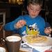 14) Ruben met zijn wafel