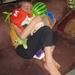 27) Ruben slaapt met zijn knuffels