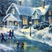 christmas-art-14-christmas-winter-scenes-with-regard-to-christmas