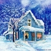 White-Christmas-House-HD-Wallpaper