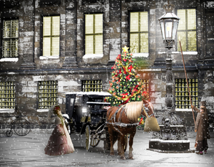 New-Horse-Cart-night-snow