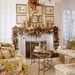 beautiful-christmas-living-room-decoration-gold-pine-tree-above-m