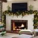 christmas-garland-mantel-decorating-ideas-elegant-christmas-mante