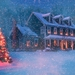 christmas-house-in-snowstorm-wallpaper-1680x1050