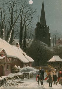 victorian-christmas-scene-with-band-playing-in-the-snow-john-bran