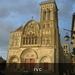 Vézelay: indrukwekkend mooie kerk.
