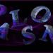 Achtergrondje gemaakt met daarop 3 d letters