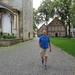 een wandelaar in Billerbeck