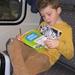 32) Ruben met zijn lectuur