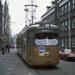 Düwag 317 als extra tram in de Rotterdamse wijk Spangen.29-11-19