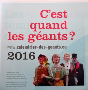 2016 - La Ronde des Géants + La Maison des Géants + LECA
