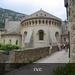 De mooie abdij van Gellone in St.-Guilhem