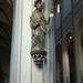 beeld St. Jacob in de Sint Gertruduskerk te Wetteren