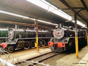 Zuid-afrika museum locomotieven-8