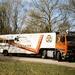 Boerema met Nienoord Truckers oplegger