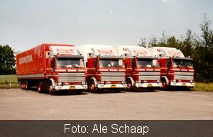 4 X Scania