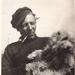 1910-1940 Frits van Meekeren met hondje