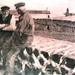 1918 Mannen op muur