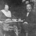 1920 (?) Tijmen v.d.Kooy en vrouw.