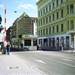 1e Checkpoint Charlie _controlepost  _naar Amerikaanse sector