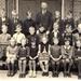 1943 Schoolfoto met meester Ten Kate