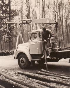 Scania + Laadkraan