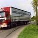 vogeltrans truckers konvooi