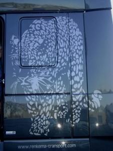 Luipaard Painting