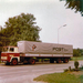 Scania 110 Super + Post oplegger
