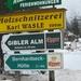 Wandeling naar Gibler Alm,1208m