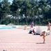 zonneterras bij zwembad