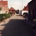 Zicht kozijnstraat v.a Nieustadpoort