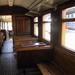 Interieur van een trein