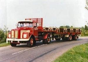 Scania Torpedo + Zwalve Oplegger