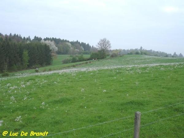 Ardennen Adeps wandeling Honnay Beauraing