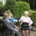 Gouden bruiloftsfeest van Harry en Bertha